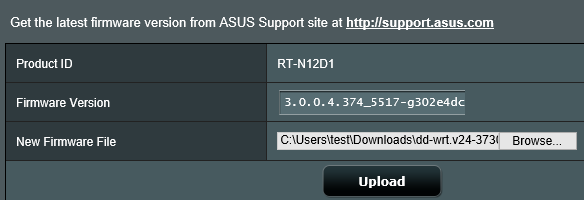 How to install DD-WRT on an Asus RT-N12 D1 — Forums