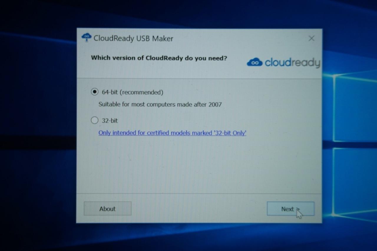 Tutorial: How to install neverware CloudReady Chrome OS on